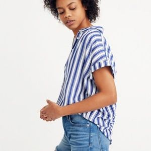 Madewell Tops - NWT Madewell Central Shirt in Shea Stripe